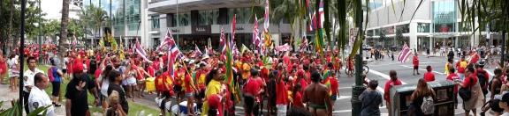 Malama Honua Parade (Take care of the Earth)