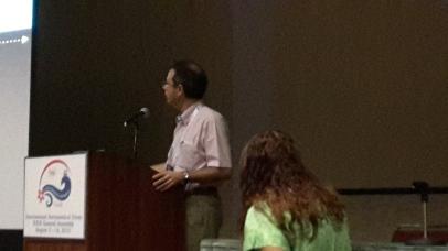 Márcio Catelan at his Talk