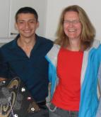 Oscar González and supervisor Marina Rejkuba