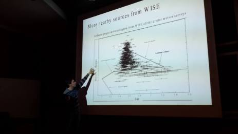 Juan Carlos Beamin at PhD defense