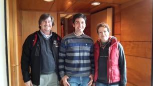 Juan Carlos Beamin and supervisors Dante Minniti and Manuela Zoccali