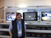 Dante behind ESO Picture of the week about the misterious microlensing event by VVV
