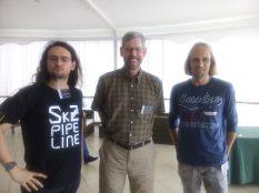 Concepción now and then: Francesco Mauro SkZ, Doug Geisler & Cristian Moni-Bidin
