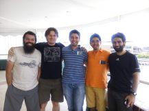 UV Sebastián Ramírez-Alegría, Mariusz Gromadski, Juan Carlos Beamin, Nicolás Godoy & Vicente Villanueva