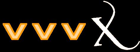 VVV X Logo for orange